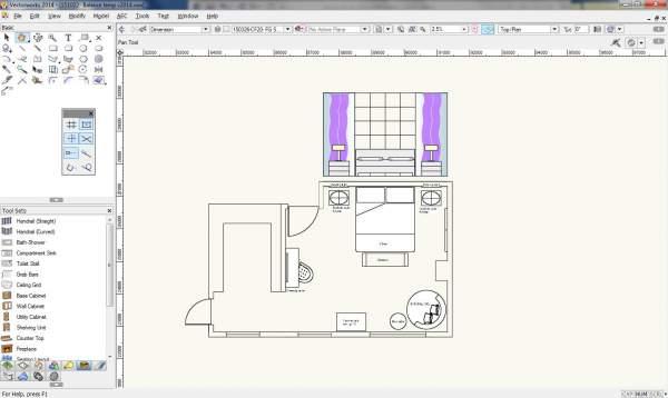 Elevation Master Bedroom - Option one